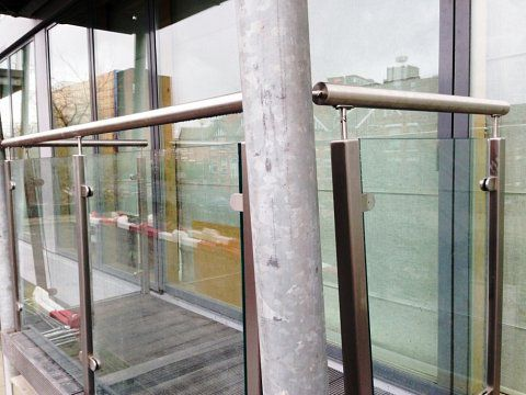 Warwickgate House - New balustrade detail