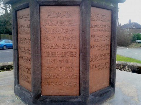 Berkswich War Memorial - Cleaned and waxed