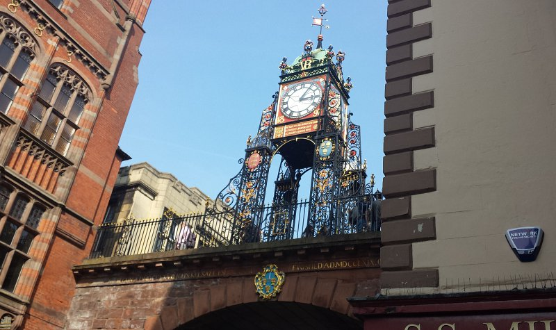 Calibre appointed to refurbish Chester's historic clock