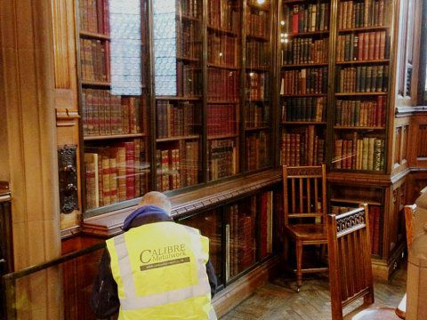 Book case, John Rylands Library -