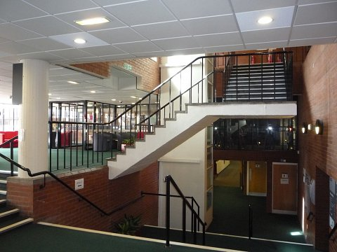 The original steel handrail balustrade was outdated and no longer compliant with current building regulations or guidelines set out in the Disability Discrimination Act 2005.