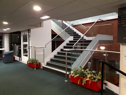 The finished handrail balustrade is fully compliant with current building regulations and the guidelines set out in the Disability Discrimination Act 2005.