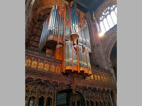 Manchester Cathedral Balustrade -
