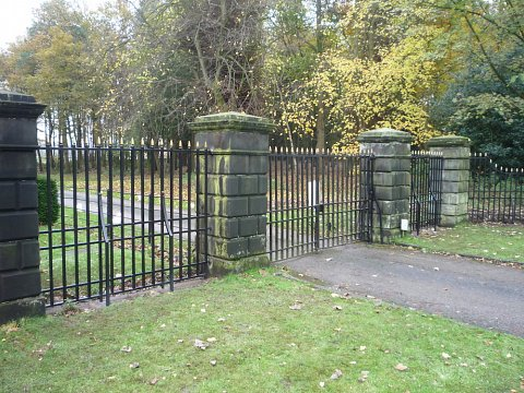 We secured the repaired and redecorated gates and railings into the stonework with traditionally hot poured lead.